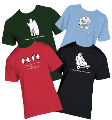 Home - Climate Change T-shirts
